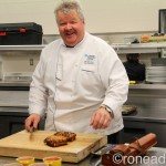 Bringing home the bacon with chef Michael Olson (recipes)