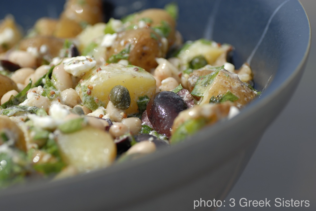 Three sisters white bean salad picture