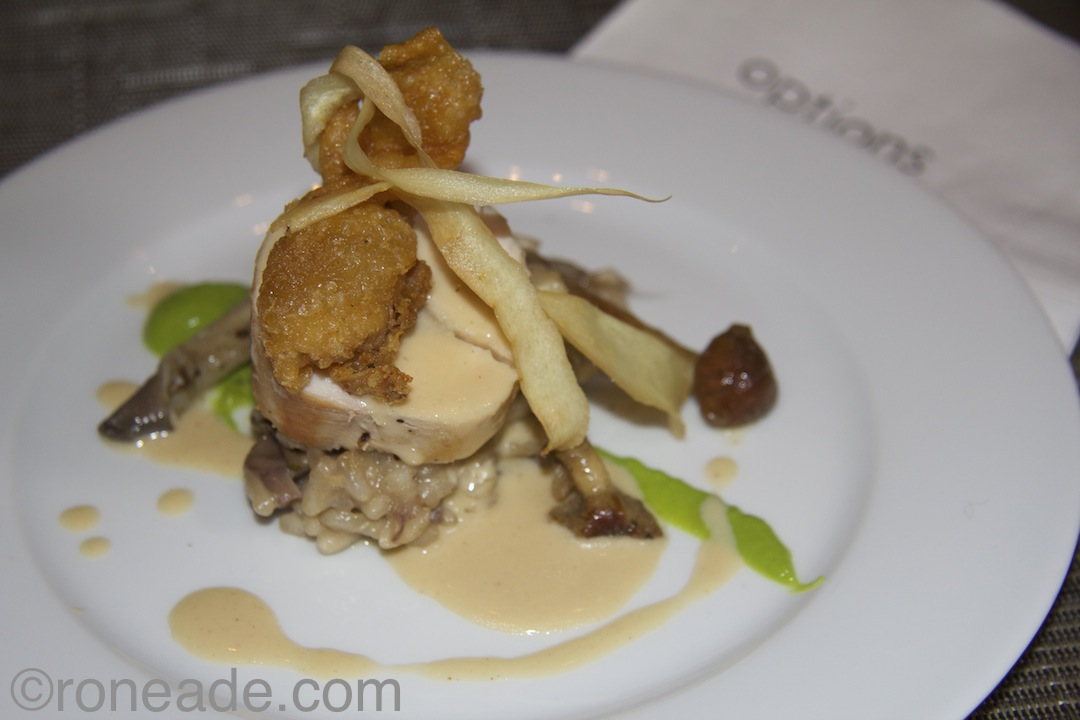 "Denta chef Mark Steele also liked Brookstreet chef Clifford Lyness' sous vide lime and coriander brined capon with mushroom-enhanced risotto embellished with mustard sauce, plated by chef John Morris of the NAC. ""With the smoked mustard"
