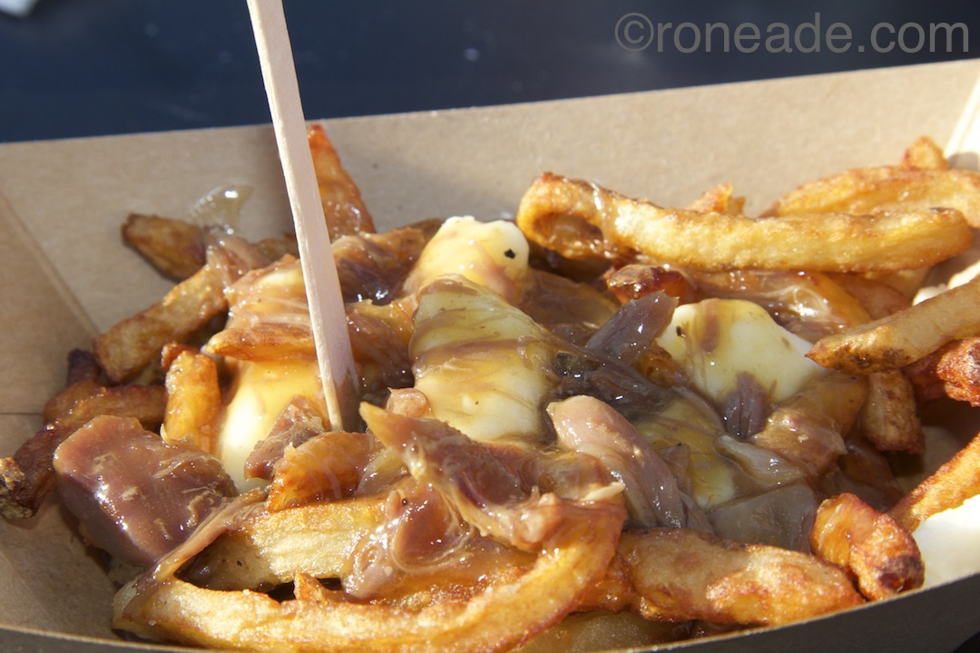 Honourable mention went to Ottawa Street Gourmet by chef Ben Baird for this lip-smacking poutine with fresh-cut fries, duck confit, St. Albert cheese curds and a rich caramelized onion gravy