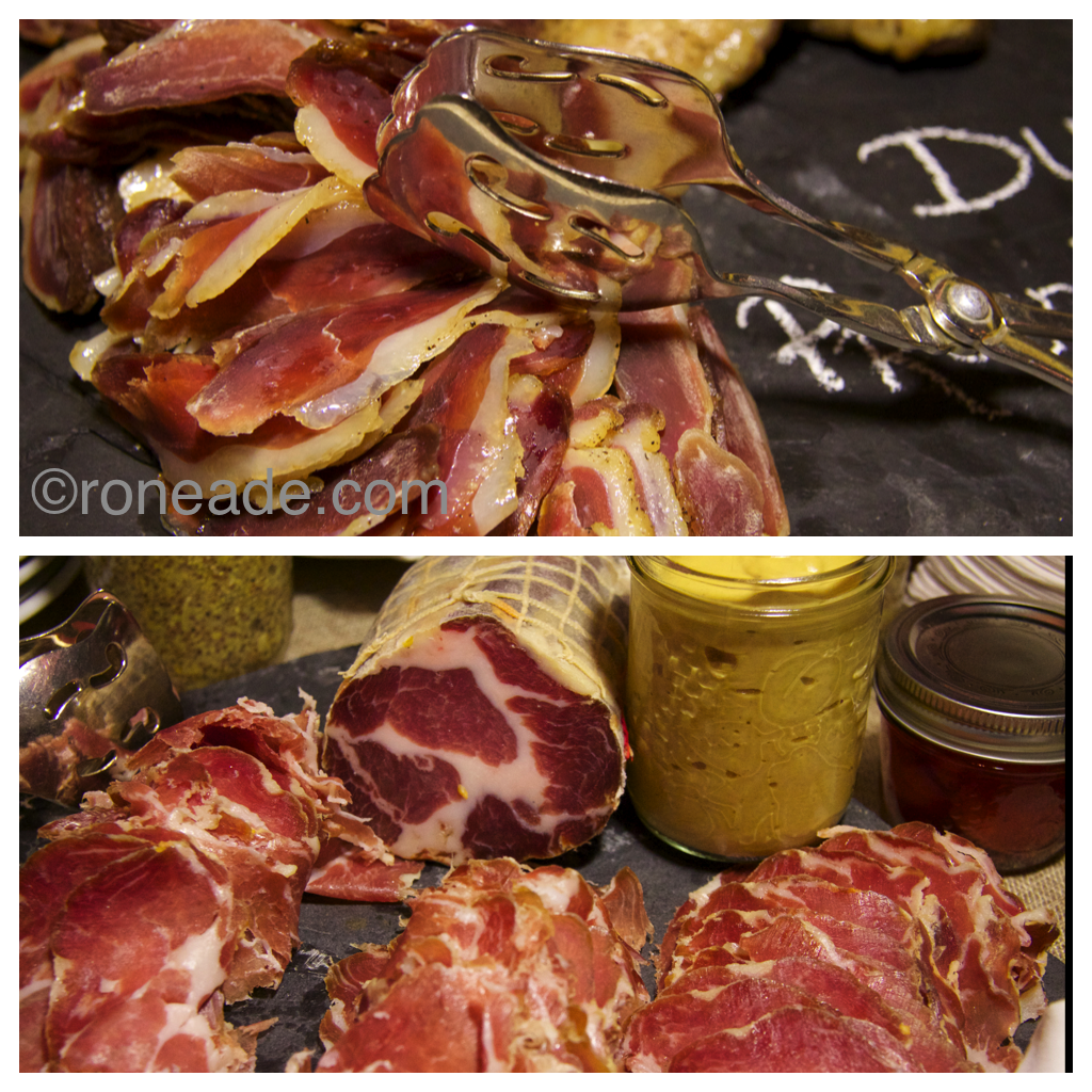 Selection of artisan charcuterie delights created by Seed to Sausage