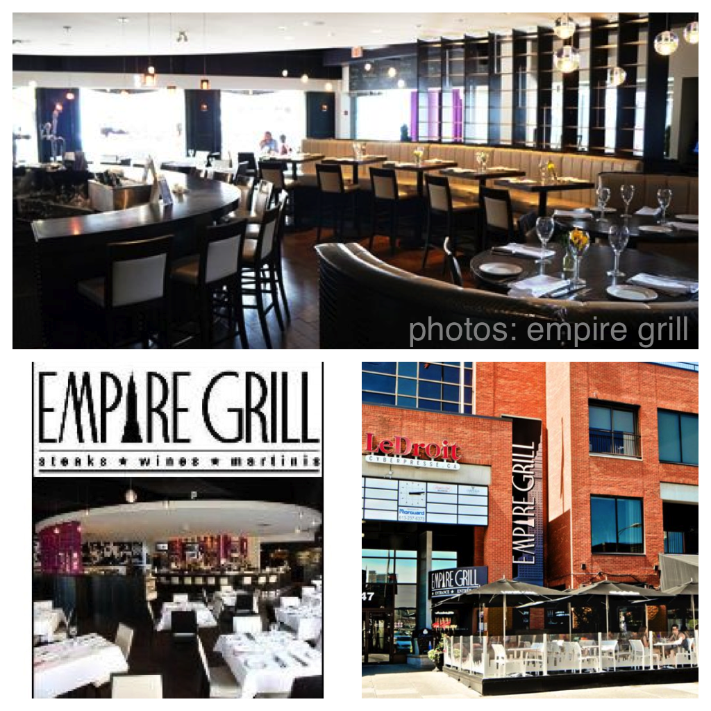 The Empire Grill, a ByWard Market icon for 17 years, is currently being renovated and will be reopened March 15 as Empire with chef Norm Aitken in the kitchen