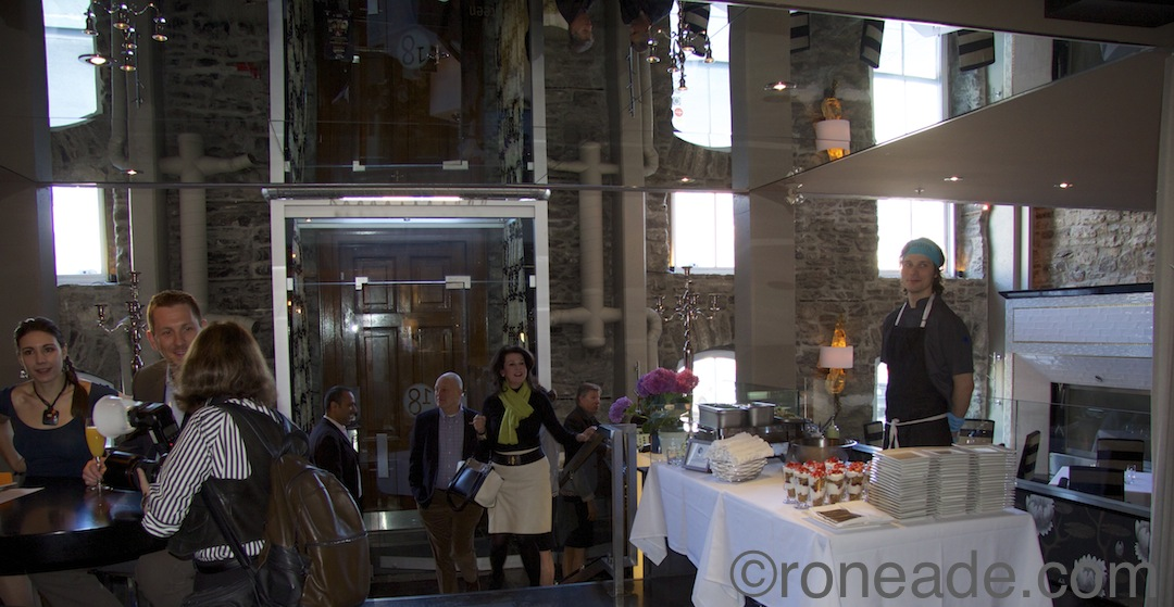 United States ambassador to Canada, Bruce Heyman, and his wife Vicki arrive Sunday for the charity brunch to celebrate Restaurant E18hteen's second year receiving the covtered AAA-CAA four-diamond award